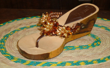 Ideas para decorar sandalias