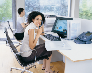 happy woman at work-resized-600